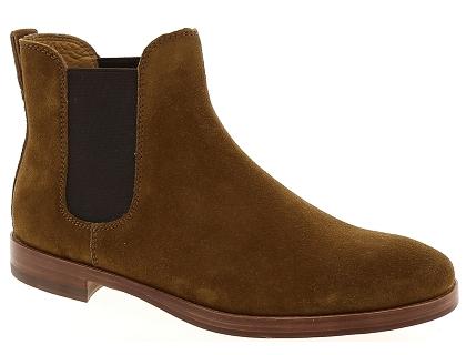 Lauren Bottines Dillian Boots Chaussures Marron Et Ralph Les 2 wExIqT1