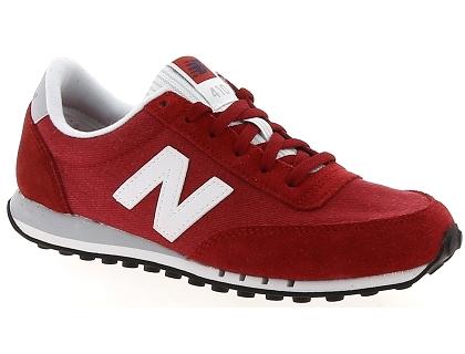 Les baskets basses new balance wl410np rouge chaussures femme