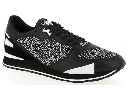 173562d00df Les baskets basses kenzo running flying logo noir - chaussures homme ...