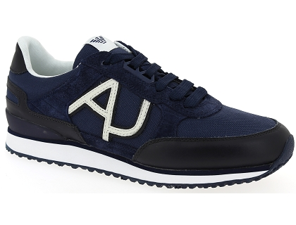 Homme Les 00 Chaussures Basses Armani Baskets 6512 Bleu 199 8Nmn0w