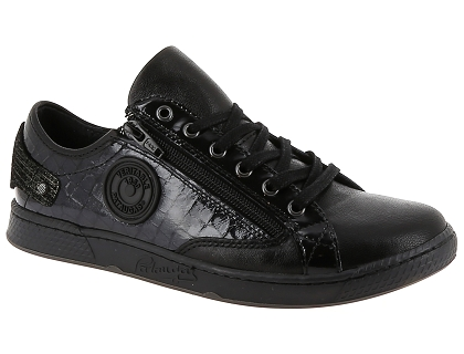 6ed779a0d87 Les baskets basses pataugas jester c noir - chaussures femme 139.00 ...