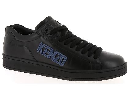 le dernier 0dc6d d3470 Les baskets basses kenzo tennix noir - chaussures homme ...