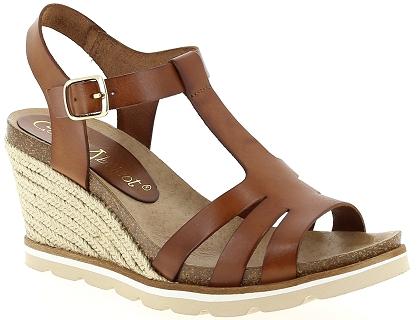 Sandales Marron Chaussures Et Abricot Pieds Les Nu Coco V0615c dxBCoe