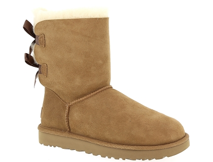 Les Chaussures Ugg Bottes Femme Ii Bailey Marron Bow 00 219 qqr4axC