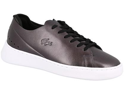 9c70283b73d Les baskets basses lacoste eyyla noir - chaussures femme 55.00 ...