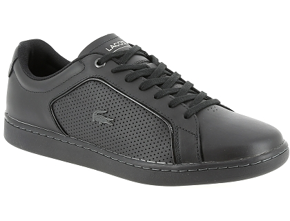 ecd0a0e443 Les baskets basses lacoste carnaby evo 317 10 noir - chaussures ...