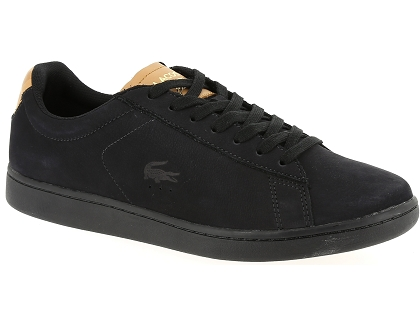 Carnaby Noir Lacoste Chaussures Baskets Evo Les Homme Basses 317 9 doCrxeB