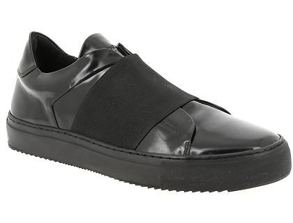 b95d9d55e79881 Les baskets basses monderer stockwell noir - chaussures homme 189.00 ...