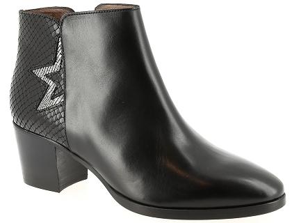 00 Bottines Femme R1869l 93 Boots Muratti Chaussures Les Noir Et a1wzHcqC47
