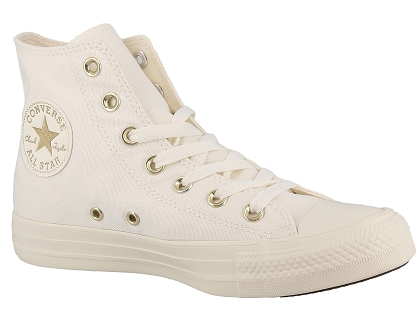 Les baskets montantes converse chuck taylor all star beige ...