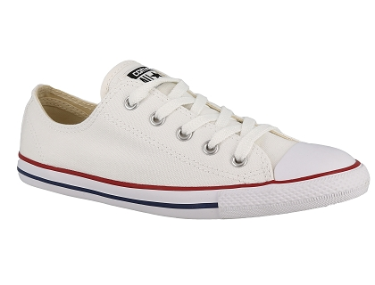 baskets basses converse chuck taylor all star dainty blanc