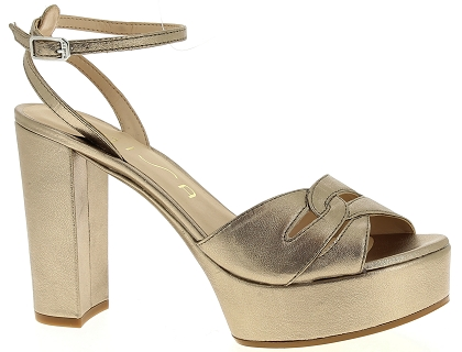 7c19c19a1b22c Les sandales et nu-pieds unisa vetra blanc - chaussures femme 60.00 ...