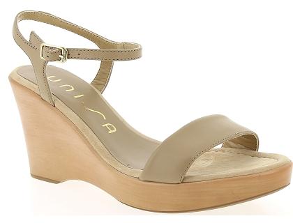 463ce1170e9c7e Les sandales et nu-pieds unisa rita marron - chaussures femme 40.00 ...