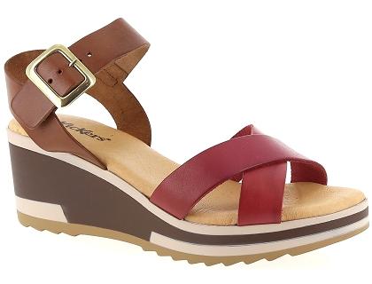 Femme Pieds Nu Les 00 Et Kickers Wind Sandales Rouge 85 Chaussures nOP80wkNXZ