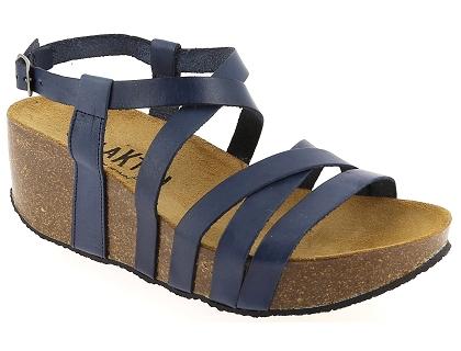 80535642000fe Les sandales et nu-pieds plakton so song bleu - chaussures femme ...