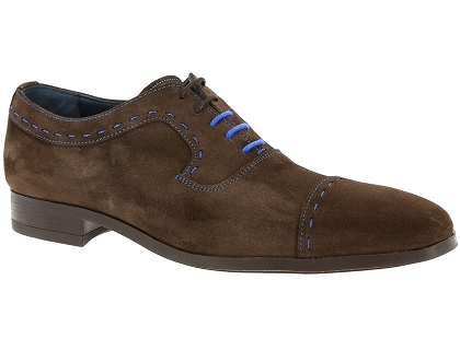 chaussures a lacets toledano 4023 145 marron