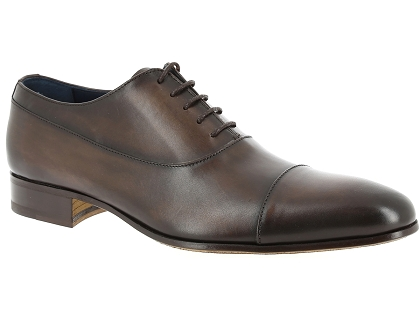 chaussures a lacets toledano 3666 145 marron