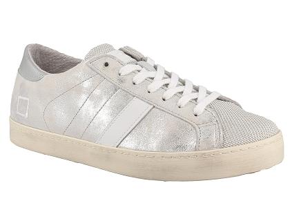 Argent Hill Baskets Basses Stardust Femme Date Low Chaussures Les QrCoexWdB