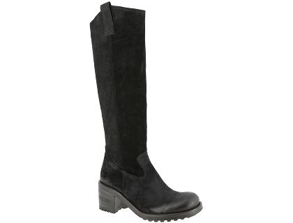 147920e7d89 Les boots et bottines ngy bottines hautes noir - chaussures femme ...