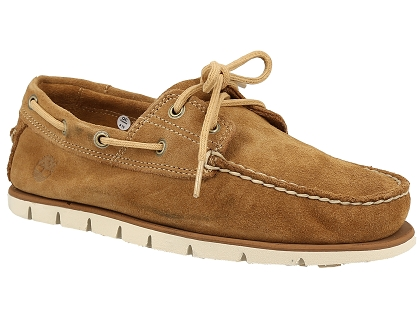 Chaussures Bateau Timberland Tidelands 2 Eye Homme Beige