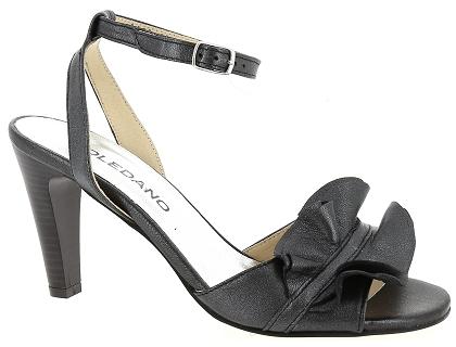 60 Chaussures Noir Sandales Les Nu Pieds 00 Toledano Femme 2428 Et pzVMUS