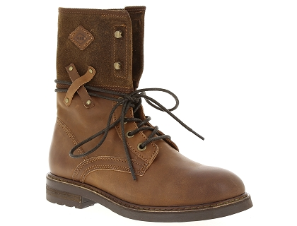 boots et bottines palladium bupswing mix marron