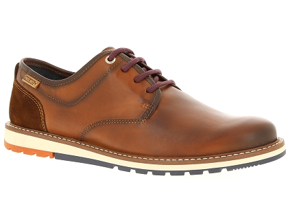 chaussures a lacets pikolinos berna marron