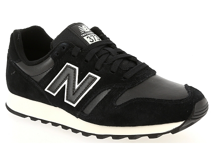 baskets basses new balance wl373 noir