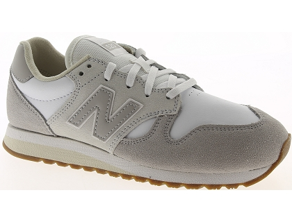 baskets basses new balance wl520 blanc