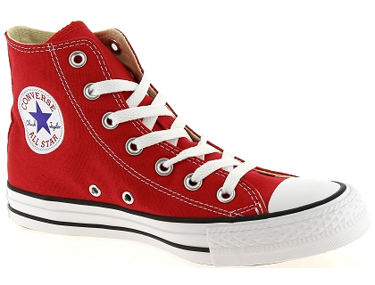 baskets montantes converse all star hi rouge