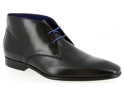 chaussures a lacets azzaro javoy noir
