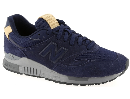 Baskets Les Homme 840 New Chaussures Basses Balance Grb Ml Bleu fgb67y
