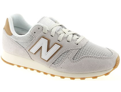 baskets basses new balance ml373 blanc