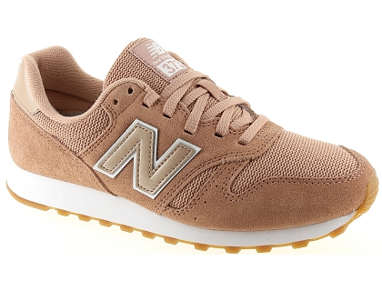baskets basses new balance wl373 rose