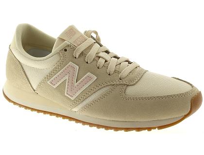 bf0e74caf638 Les baskets basses new balance wl420 beige - chaussures femme 90.00 ...