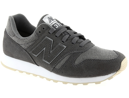 baskets basses new balance wl373 gris