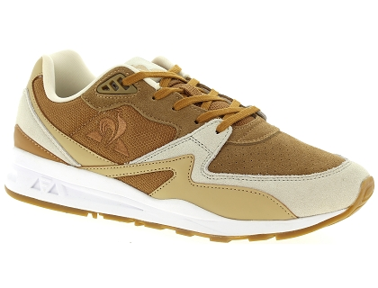 baskets basses le coq sportif r800 marron
