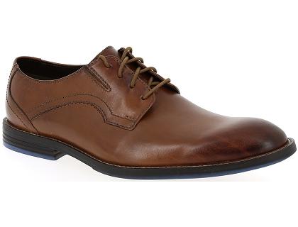 Clarks Prangley Walk (Marron) Chaussures à lacets chez