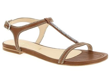 c8623861d831 Les sandales et nu-pieds unisa canoa marron - chaussures femme 55.00 ...