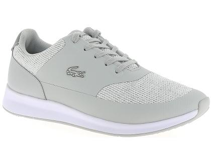 8483747724 Les baskets basses lacoste chaumont lace gris - chaussures femme ...