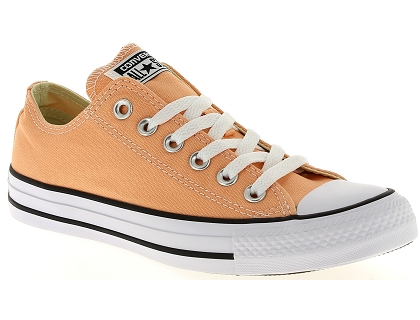 baskets basses converse chuck taylor all star orange
