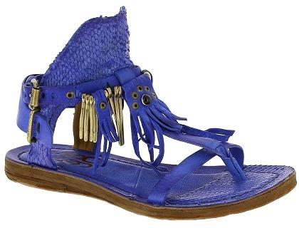 Nu Airstep Sandales Les Bleu Femme Pieds Et 534010 Chaussures As98 Aq435jLR