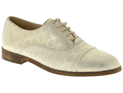 Les chaussures a lacets dorking 7090 raquel or chaussures
