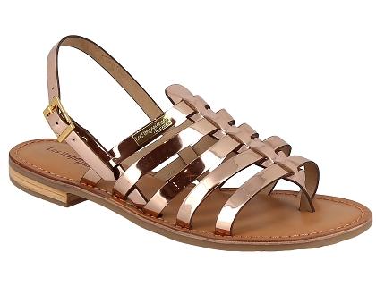 7dbb1e71cb56db Les sandales et nu-pieds les tropeziennes hemir rose - chaussures ...