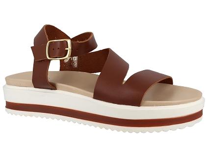 44486b Chaussures Et Do Sandales Les Nu We Femme Pieds Marron 5ARLq3j4