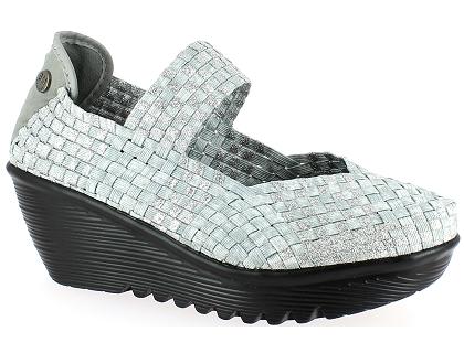 Et Chaussures Les Bernie Sandales Argent Lulia Mev Nu Femme Pieds Ow5rnH6A5q