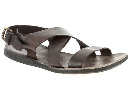 1a25699a13bbb0 Les sandales et nu-pieds brador 46 518 marron - chaussures homme ...
