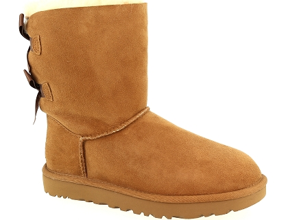 bottes ugg bailey bow ii marron