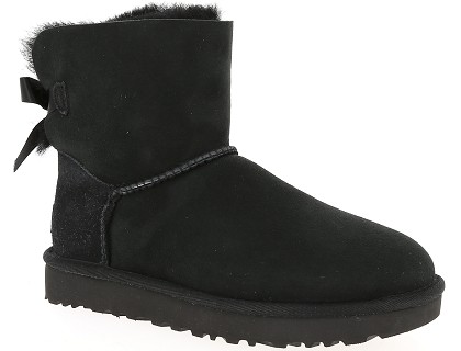 boots et bottines ugg mini bailey bow ii noir