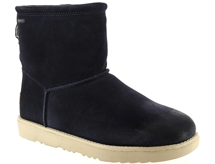 boots et bottines ugg classic toggle waterproof bleu